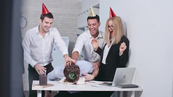 Thumbnail for Birthday Party in the Office