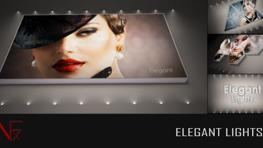 Elegant Lights - Clean Photo and Video Gallery