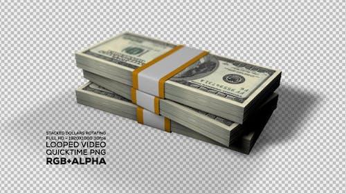 Dollars Rotating / Money Rotating