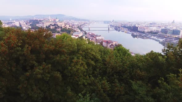 Thumbnail for Historical Buda Castle Near the Danube on Castle Hill in Budapest, Hungary
