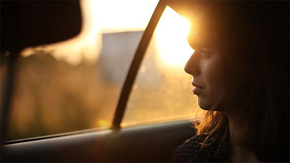 Thumbnail for Girl Sitting In The Car