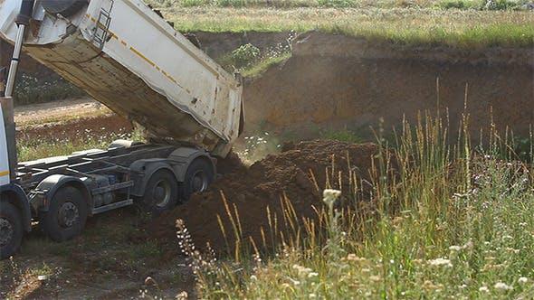 Thumbnail for Dump Truck Unloads