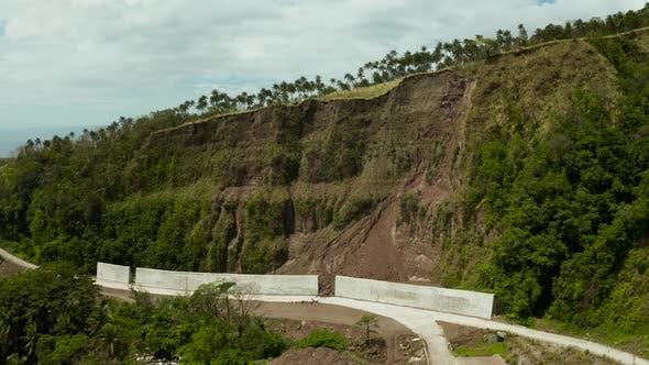 Thumbnail for Anti-landslide Concrete barrier.Camiguin Philippines.