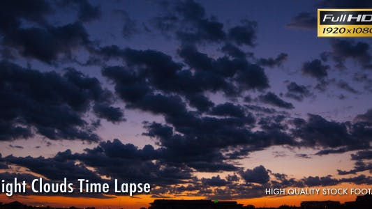 Thumbnail for Night Clouds Time Lapse