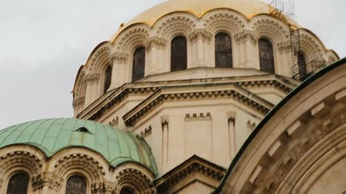 Architectural Elements of Alexander Nevsky Church in Sofia, Touristic Attraction