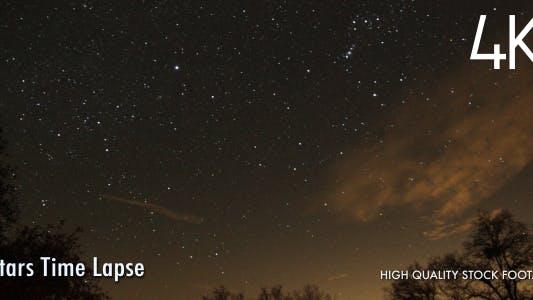 Thumbnail for Stars Time Lapse 4K