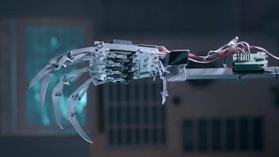 Robot Hand Spinning
