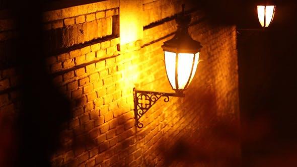Thumbnail for Focus Change on Romantic Street Light
