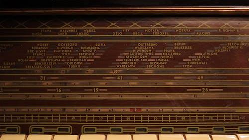 Vintage Radio Cursor Moving