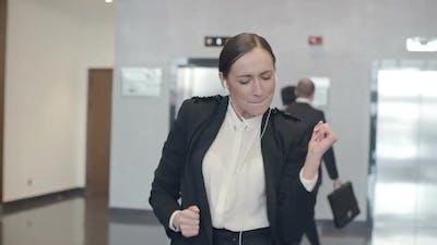 Crazy Businesswoman