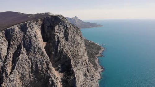 Majestic High Cliffs and Endless Sea