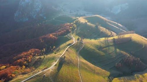 Countryside Mountains