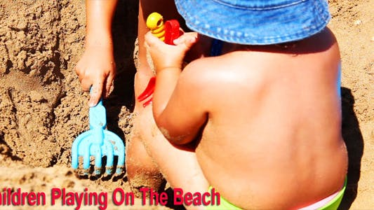 Thumbnail for Children Playing On The Beach
