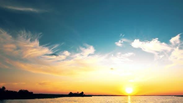 Thumbnail for 4K sunset