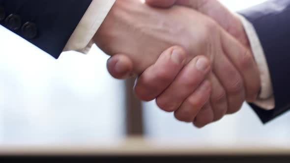 Thumbnail for Handshake of Two Colleagues