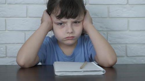 Annoyed from homework.