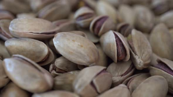 Thumbnail for Rotation Nuts Pistachios Background