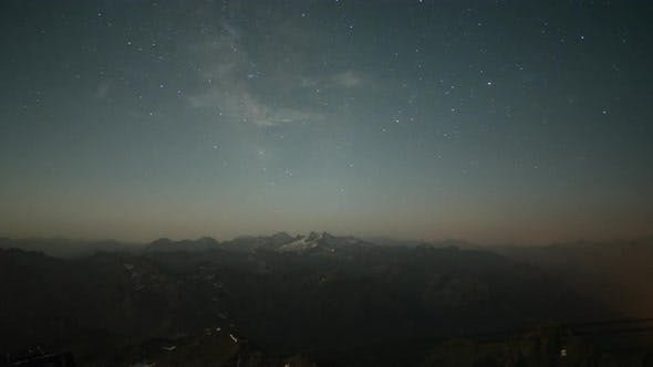 Thumbnail for Pyrenees timelapse france night mountains stars observatory