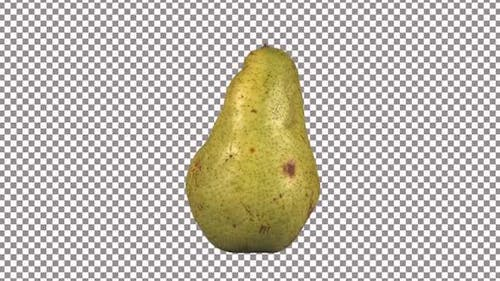 Pear Rotating With Alpha