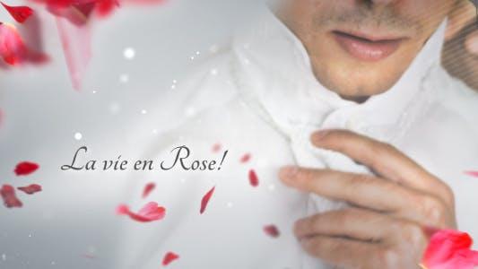 La Vie en Rose - Wedding template