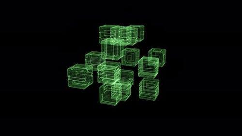 Futuristic Quantum Computing Simulation 02