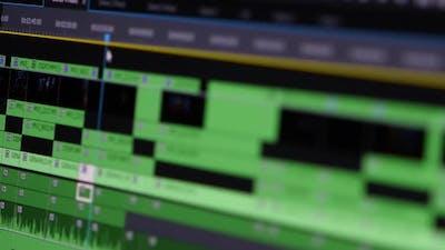 Video Editing: Timeline Frame