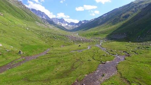 Mountain Alpine Valley