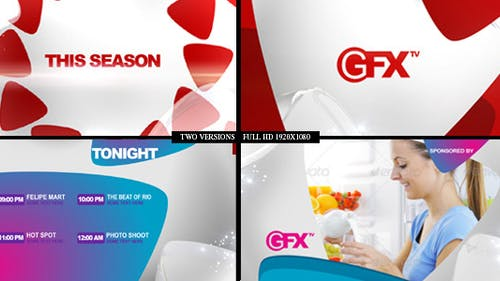 Gfx TV Broadcast Package