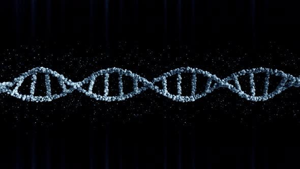 Thumbnail for Turning Blue DNA Molecule