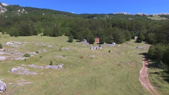 Thumbnail for Brick cabin isolated on Dinara mountain in Croatia