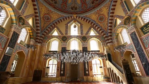 Cover Image for Istanbul Ottoman Grand Kasimpasa Mosque Interior
