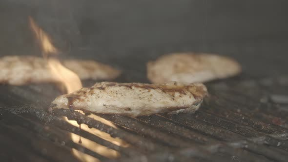 Barbecue Sauce and Chicken Breast