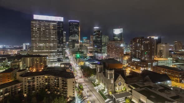Thumbnail for Time lapse of the Minneapolis Minnesota skyline