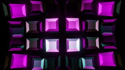Colored Cubes VJ Loop