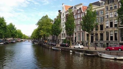 Die Kanäle von Amsterdam