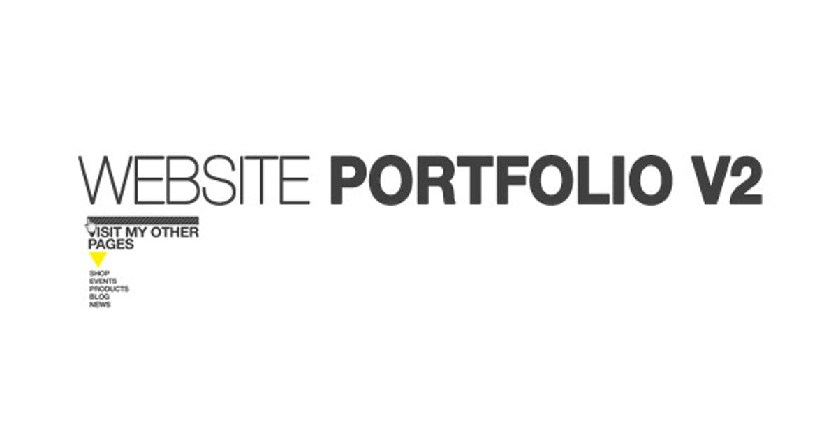 Download Website Portfolio v.2 by marcobelli