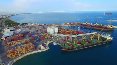 Logistics Port Terminal