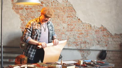 Lederhandwerk. Die Praxis, Leder zu Handwerksobjekten zu machen