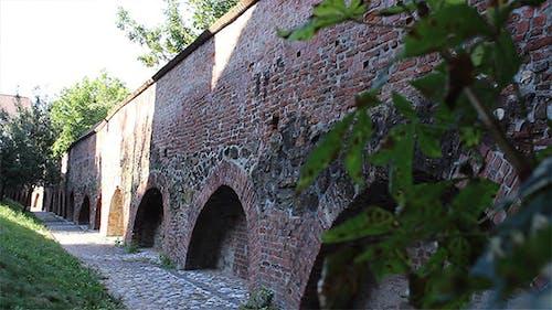 Zitadelle Verteidigung Ziegelmauer