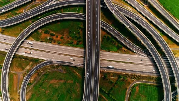 Thumbnail for Highway Traffic From Above