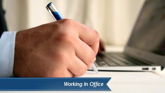 Thumbnail for Working In Office