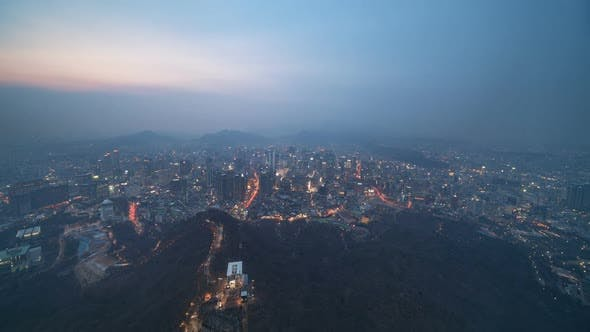 Thumbnail for Seoul, Korea - Seoul from Day to Night