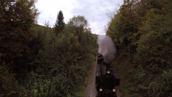 Thumbnail for Historical Steam Engine Train Locomotive