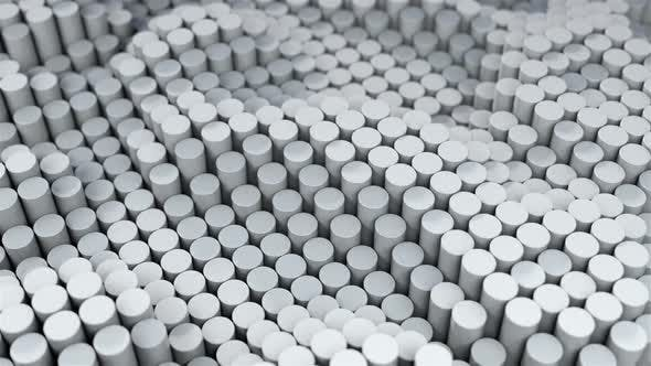 Gray Cylinders Motion 139