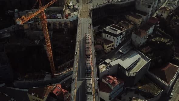 Thumbnail for Subway On Bridge In Porto