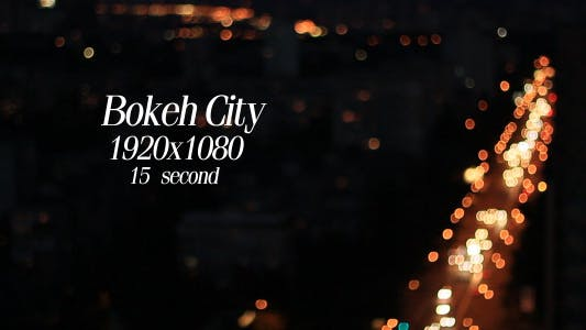 Bokeh City 1