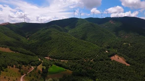 Thumbnail for Windmills Landscape