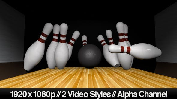 Thumbnail for Following Bowling Ball Down the Lane For a Strike