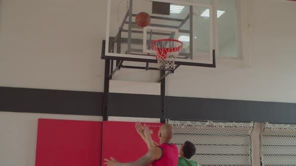 Thumbnail for Basketball Forward Winning Offensive Rebound