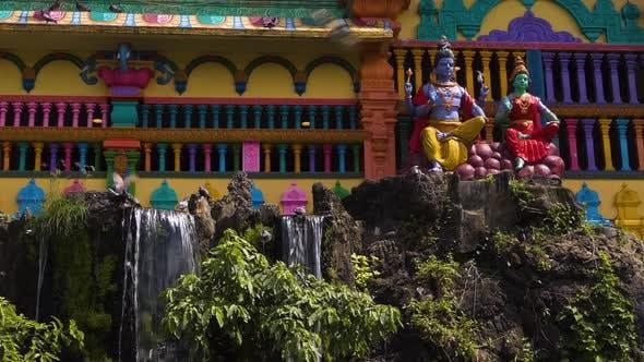 Thumbnail for Batu Caves - Temple, Waterfall, Birds